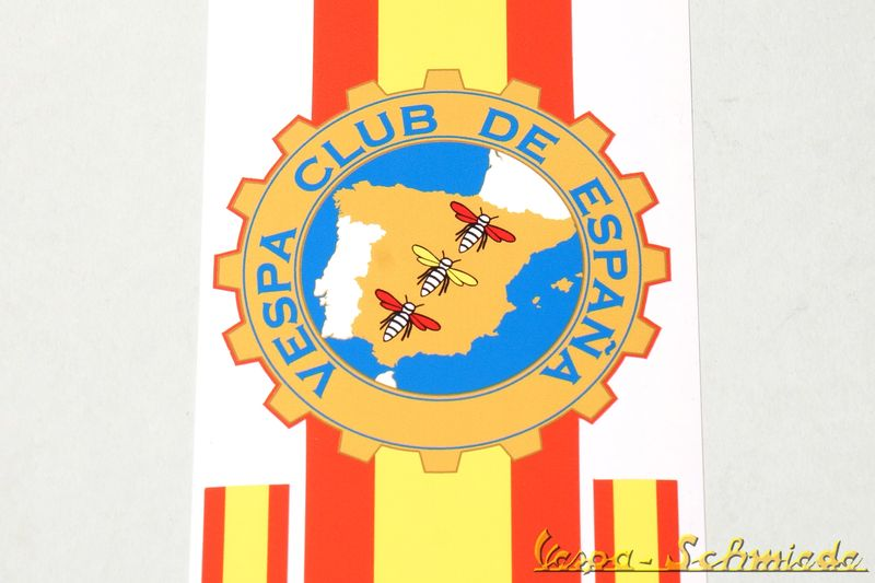 "Preview: Dekor ""Vespa Club de España"" Beinschild"