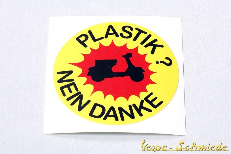 Details Zu Vespa Dekor Aufkleber Plastik Nein Danke V50 Pk Px Gl Rally Lambretta Nsu