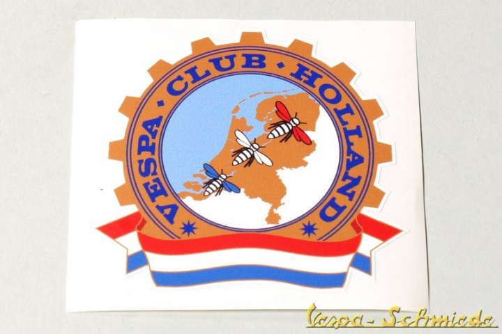 "Aufkleber ""Vespa Club Holland"""