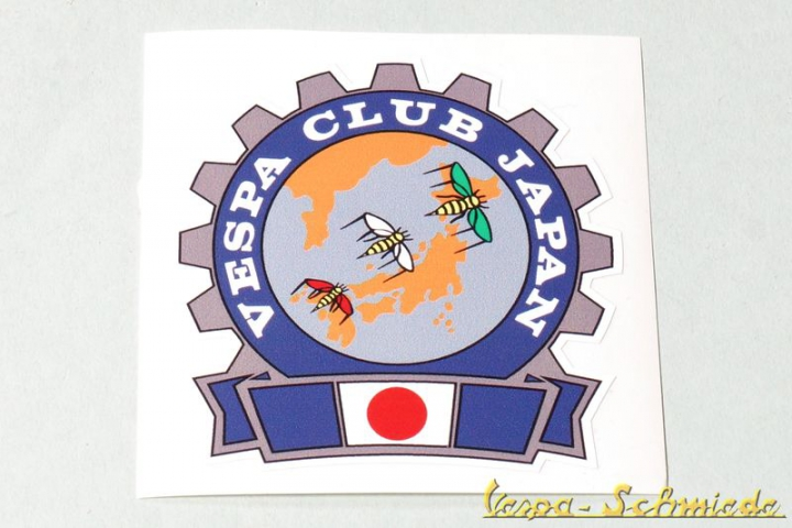 "Aufkleber ""Vespa Club Japan"""